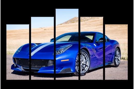 Модульная картина Ferrari Sportcar